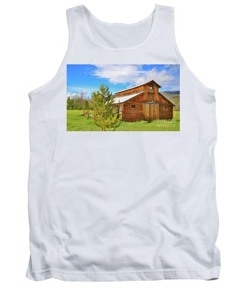 Buckaroo Barn 2 Tank Top by John Roberts