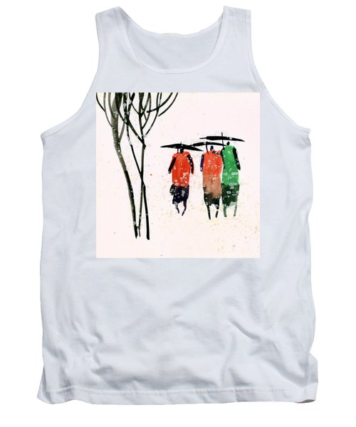 Buddies 3 Tank Top by Anil Nene