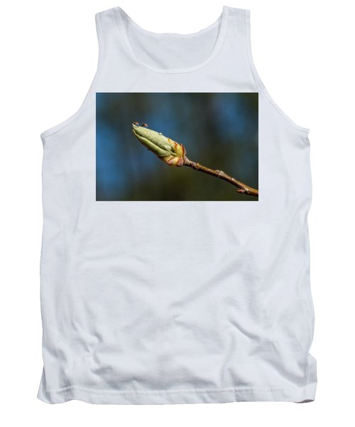 Tank Top featuring the photograph Buds With Water Drops by Paul Freidlund