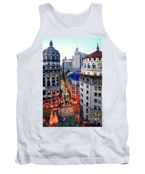 Buenos Aires Street I Tank Top by Bernardo Galmarini