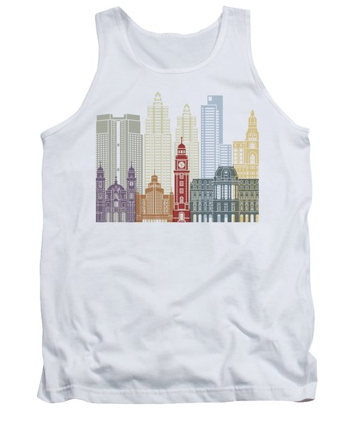 Buenos Aires V2 Skyline Poster Tank Top