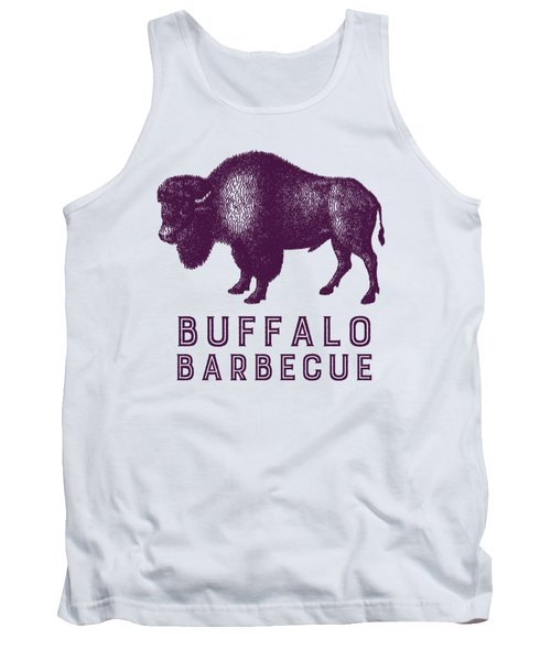 Buffalo Barbecue Tank Top by Antique Images