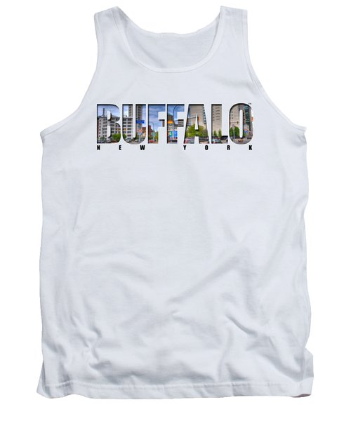 Buffalo Ny Entering Downtown Tank Top by Michael Frank Jr