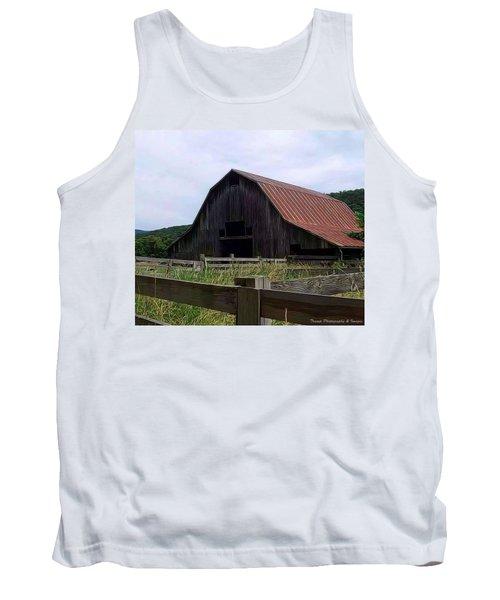 Buffalo River Barn Tank Top
