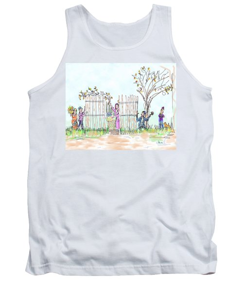 Building The Sukkot Tank Top