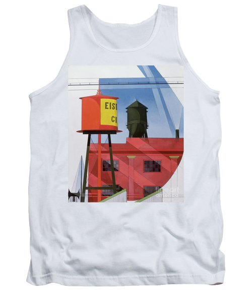 Buildings Abstraction Tank Top