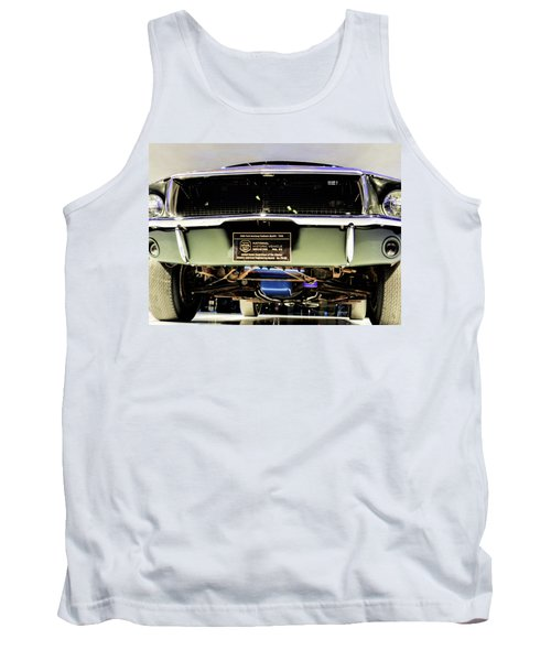 Bulitt Front View Tank Top