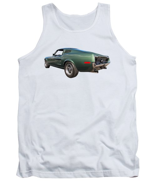 Bullitt - 1968 Mustang Fastback Tank Top