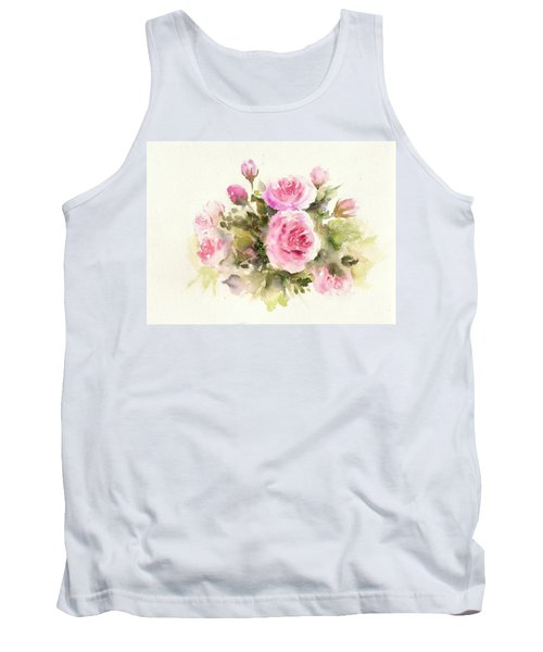Bunch Of Roses Tank Top