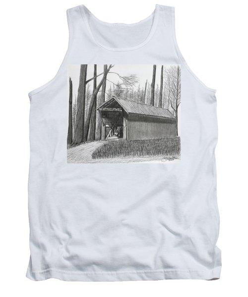 Bunker Hill Covered Bridge  Tank Top