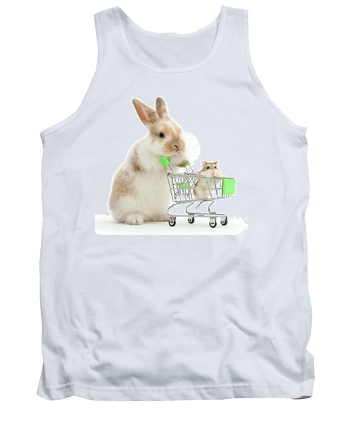 Bunny Shopping Tank Top