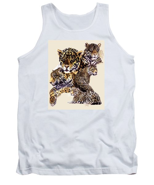Tank Top featuring the drawing Burn by Barbara Keith