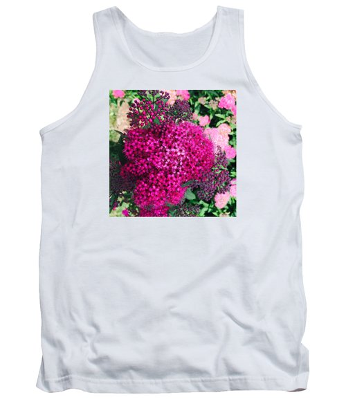 Burst Of Pink Delight Tank Top