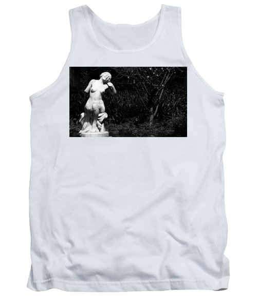 Tank Top featuring the photograph But Still Smiling by Lorraine Devon Wilke
