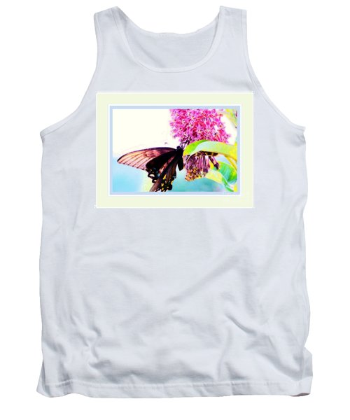 Butterfly Business Tank Top