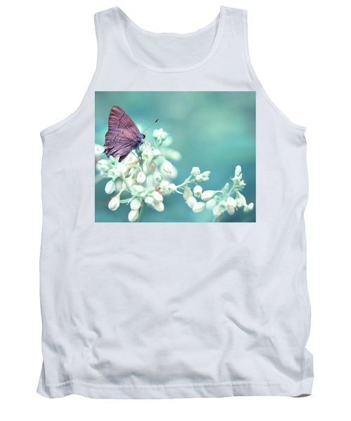 Tank Top featuring the photograph Buterfly Dreamin' by Mark Fuller