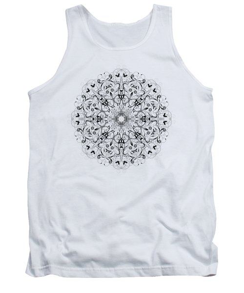 Butterflies And Grapes  Tank Top