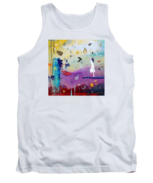 Butterflies And Me Tank Top