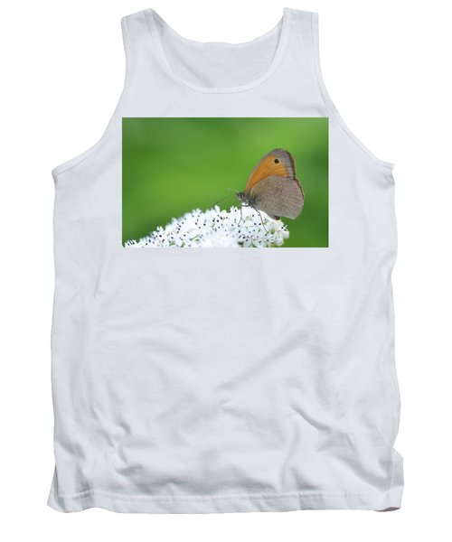 Tank Top featuring the photograph Butterfly by Bess Hamiti