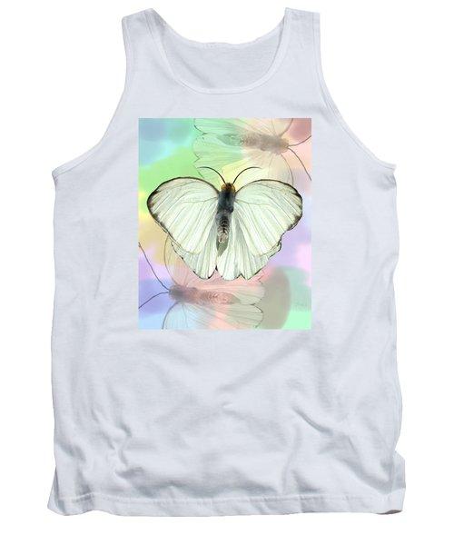 Butterfly, Butterfly Tank Top by Rosalie Scanlon