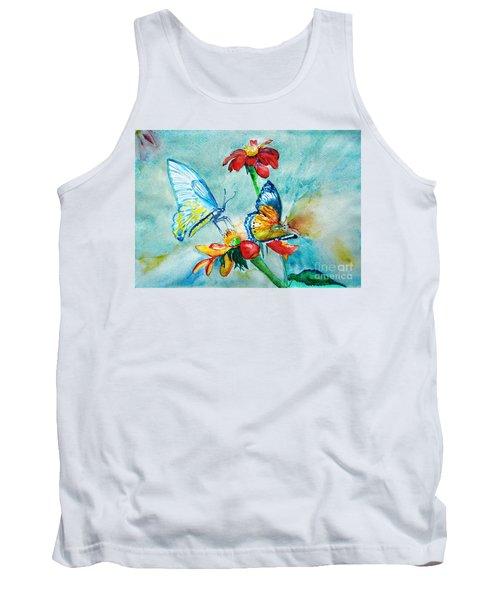 Butterfly Dance Tank Top