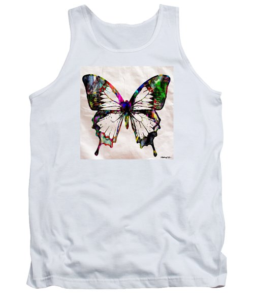 Butterfly Rainbow Tank Top