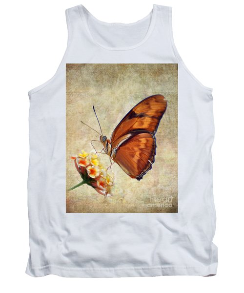 Butterfly Tank Top by Savannah Gibbs