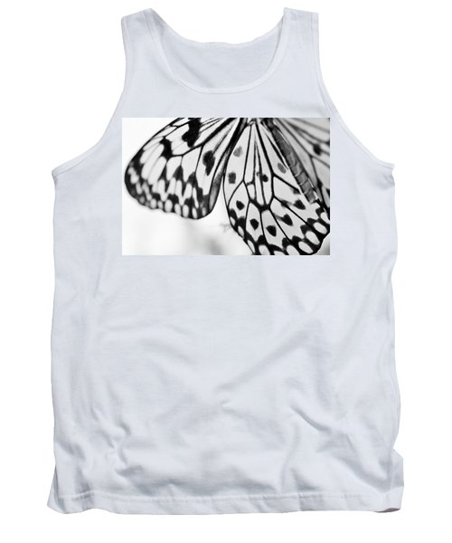Butterfly Wings 3 - Black And White Tank Top