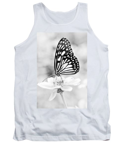 Butterfly Wings 7 - Black And White Tank Top