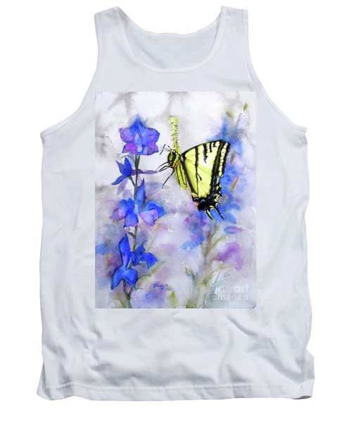 Butteryfly Delight Tank Top by Bonnie Rinier