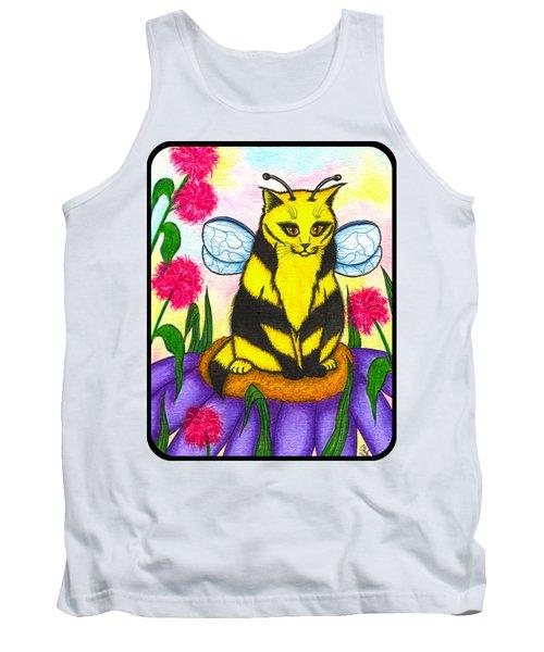 Buzz Bumble Bee Fairy Cat Tank Top