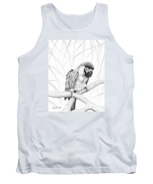 Bw Parrot Tank Top by Phyllis Howard