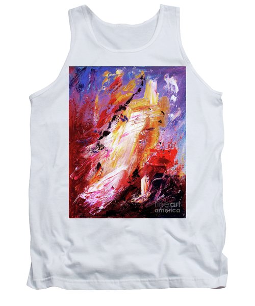 By Herself 3 Tank Top by Jasna Dragun