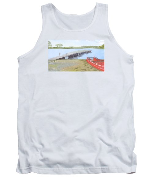 By The Lake Tank Top by Joanne Perkins