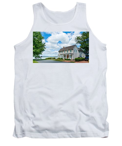 Tank Top featuring the photograph By The Water In Oxford Md by Charles Kraus