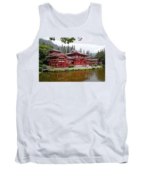 Byodo-in Temple Oahu Tank Top
