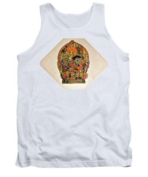 C3po Star Wars Afrofuturist Collection Tank Top