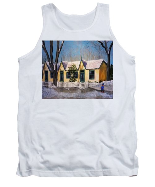 Cabbagetown Christmas Tank Top by Diane Arlitt