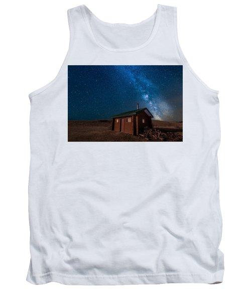 Cabin In The Night Tank Top