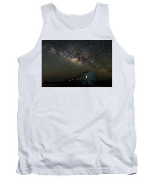 Cabin Under The Milky Way Tank Top