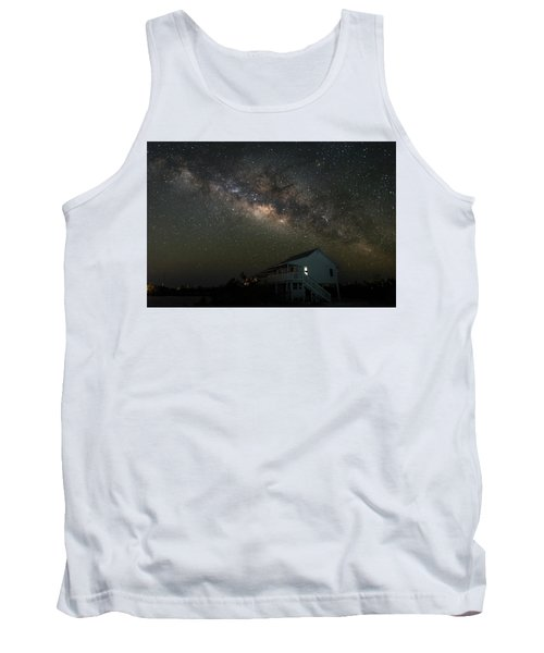 Cabin Under The Milky Way Tank Top