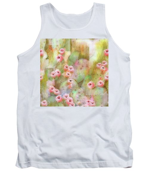 Cactus Rose Tank Top