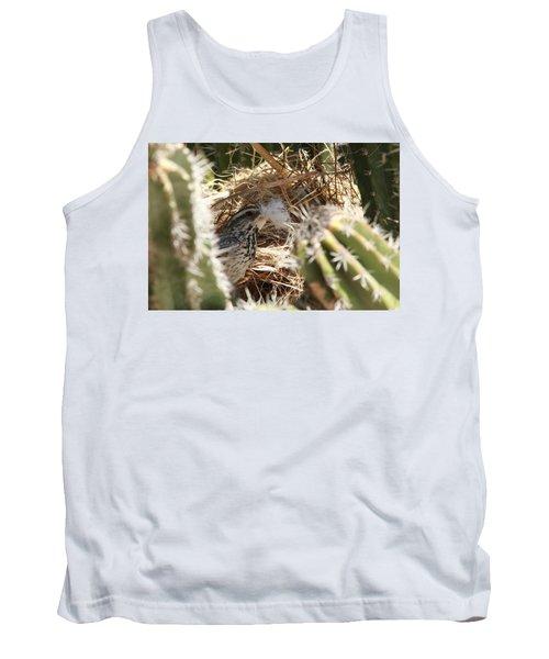 Cactus Wren Feather Tank Top