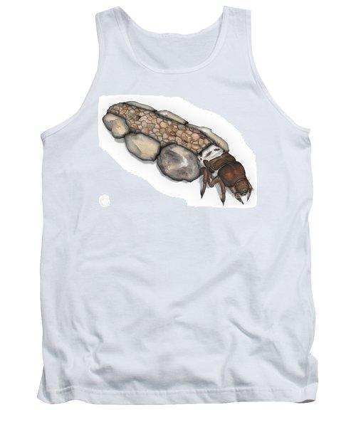 Caddisfly Larva Nymph Goeridae_silo_pallipes -  Tank Top