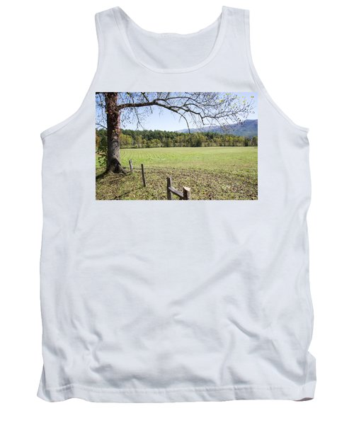 Cades Fence Tank Top by Ricky Dean
