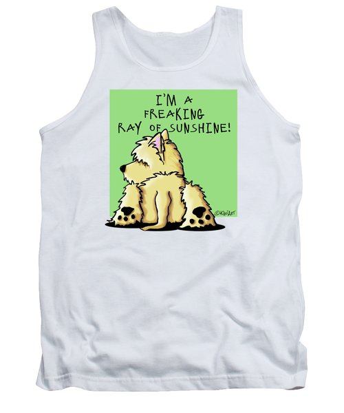 Cairn Terrier Sunshine Tank Top