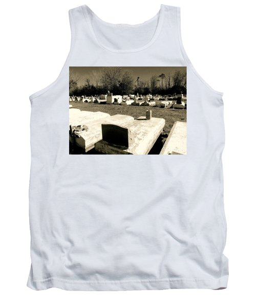 Cajun Country Graveyard #1,la. Tank Top