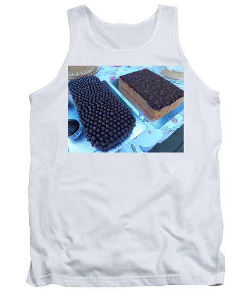 Tank Top featuring the photograph Cake And Dreams by Beto Machado