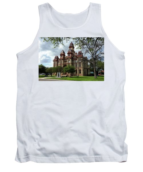 Tank Top featuring the photograph Caldwell County Courthouse by Ricardo J Ruiz de Porras