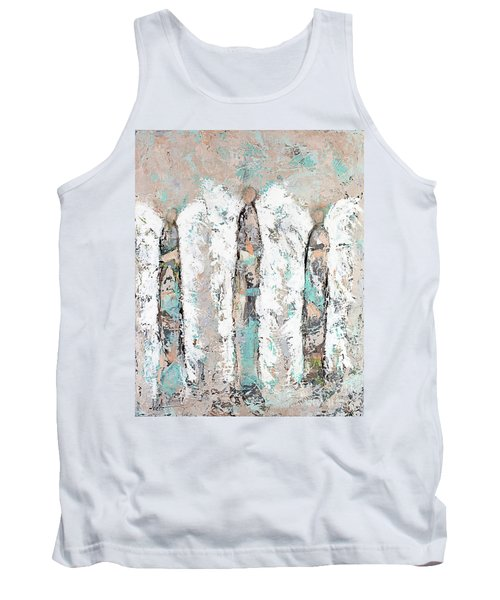 Calico Angel Trio Tank Top by Kirsten Reed